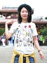 Tシャツ2サイズ展開沖縄の人気Okinawa A to Z お土産雑貨