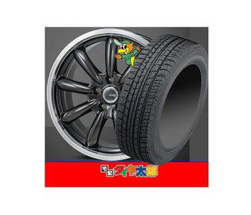 【14インチ】オールシーズンタイヤ&ホイール ekスポーツ (H81W系)等 【日本製★国産 ベクター4シーズンHB】155/55R14【JP STYLE BANY】4.5J-14inch 4穴 PCD100 in45 新品 タイヤホイール 4本セット 155-55R14
