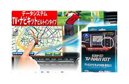 【データシステム/DataSystem】TV-NAVI KIT テレビ&ナビキット ビルトインタイプ ニッサンディーラーオプションナビ MJ116D-A などに対応 品番:NTV384B-A/NTV384B-B
