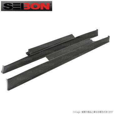 【SEIBON/セイボン】ニッサン 35GTR R35用サイドスカート直輸入品