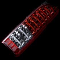 【ヴァレンティ】ハイエース 200系 などにお勧め JEWEL LED テールランプ ハーフレッド/クローム 品番:TT200ACE-HC-1 Valenti ジュエル LED TAIL LAMP