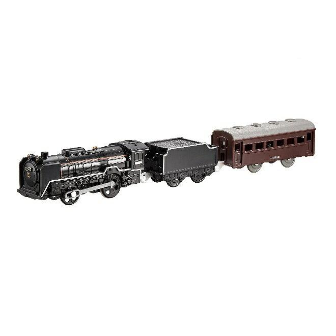 (税込み¥1728/個)プラレール S-28 ライト付D51 200号機蒸気機関車【1カートン/24入り】カートンボックス販売