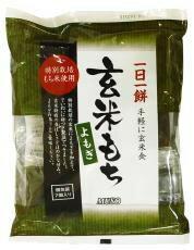 玄米きり餅・よもぎ360g 7個入り(HZ)