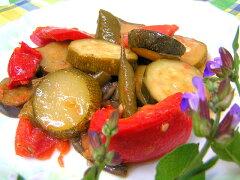 「身体に優しいお惣菜」をコンセプトにお母さんの手作りの味を!C)ラタトゥイユ(夏野菜の煮込...