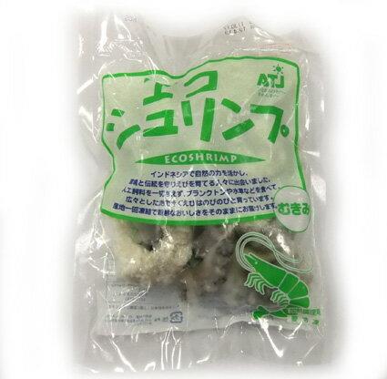 Size S Black tiger prawns 200 g ( peeled shrimp ) (Indonesia production and aquaculture )