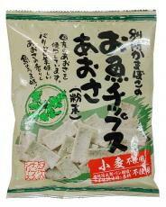 ■【ムソー】(別所蒲鉾)お魚チップス・あおさ 40g