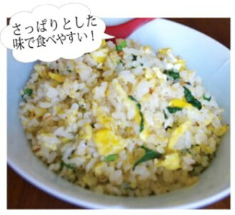 Sweet and sour shallots and egg fried rice