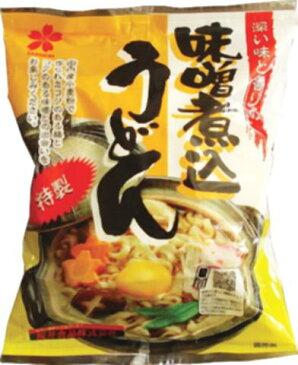 ■【ムソー】(桜 井)味噌煮込うどん105g ※冬季限定品※売り切れの際はご容赦ください。