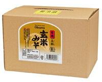 ●【オーサワ】有機立科 玄米みそ (箱入り)3.6kg ※数量限定品※普通便発送