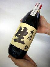 太陽生(なま)天然醸造醤油(1リットル)※自然農法大豆・国産小麦使用・天然醸造