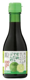 ●【オーサワ】ヒカリ 有機すだちぽん酢180ml