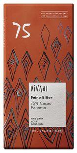 オーサワ ViVANIオーガニックダークチョコレート75%80g※11月〜4月 品※パッケージ変更