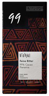 オーサワ ViVANIオーガニックエキストラダークチョコレート99%80g※11月〜4月 品
