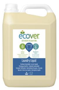 ●【オーサワ】エコベール ランドリーリキッド(洗濯用洗剤)大容量パック 5L
