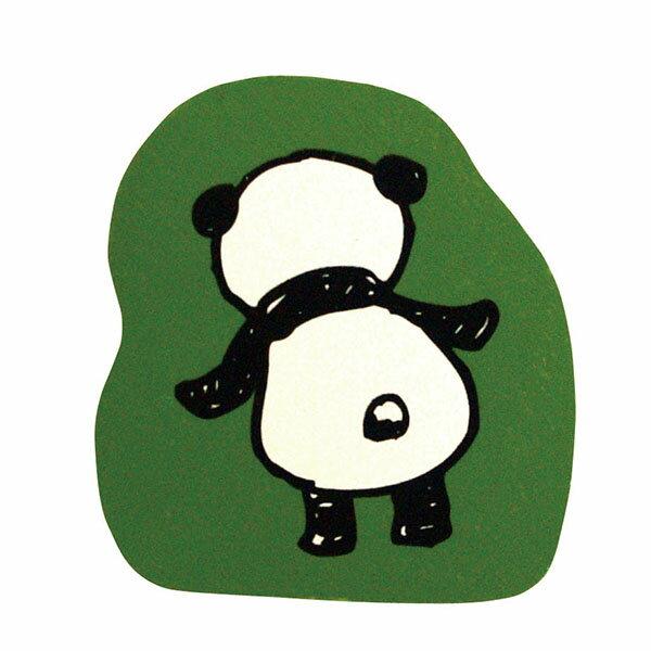 こどものかお パンダのスタンプ C 後ろ姿 0962-014