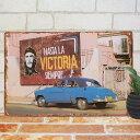 ブリキ看板 チェゲバラ hgblu ポスター インテリア 壁飾り 雑貨 小物