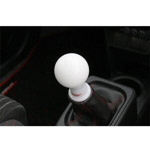 シフトノブ【モンスターシフトノブAタイプ(球型)/白差込タイプ】【831115-7350M】