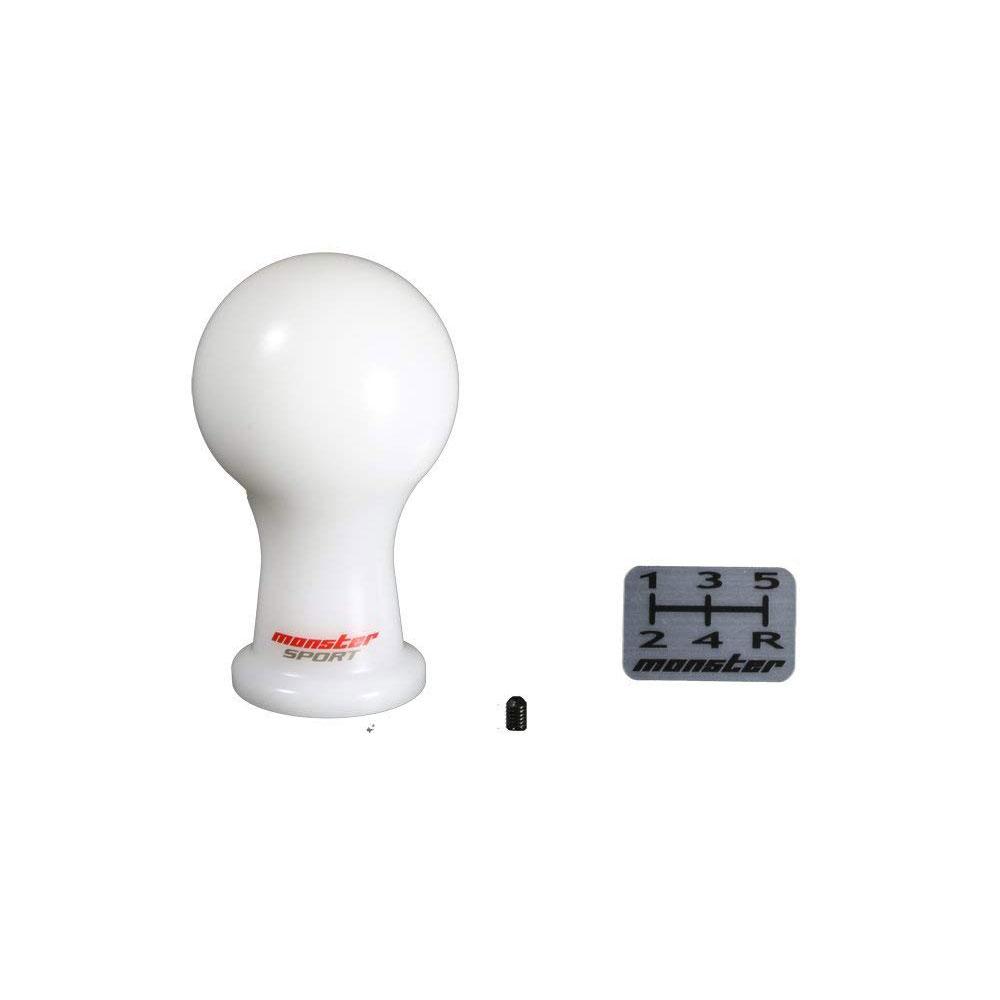 アルトワークス HA36S他 MT車 シフトノブ Aタイプ (球型)/白 差込タイプ モンスタースポーツ画像