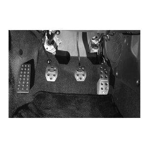 カプチーノペダルカバーEA11R/21RMT車【スポーツドライビングペダルカバー/クリアアルマイト】*送料・代引手数料無料!【849500-2800M】