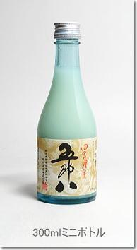 【新潟県地酒】菊水五郎八にごり酒300mlボトル画像