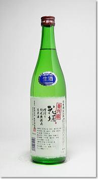 花垣槽搾り純米酒無濾過生原酒「番外編」720ml