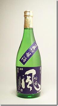 浪乃音(なみおのおと)「風」夏吟醸酒1.8L