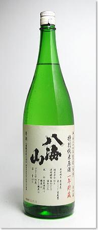 八海山特別純米原酒限定生詰一年熟成酒1800ml