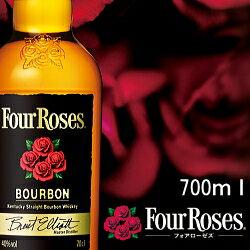 【バーボンウイスキー】フォア・ローゼス ブラック 700mlサイズ