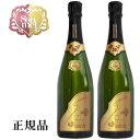 【正規品】Soumei BRUT シャンパン『 ソウメイ ブリュット ゴールド 750ml×2本 』高級シャンパン ソーメイ糖質カットなので、沢山飲んでも太りにくい誕生日 バースデー 結婚御祝い 結婚式 記念日開店御祝 インスタ映え ラッキーシール 卍