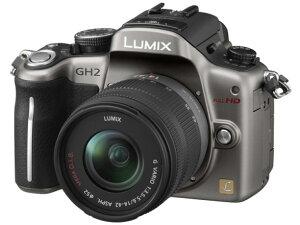 【新品】 パナソニック (Panasonic) LUMIX DMC-GH2K-S レンズキット [シルバー]/約0.1秒AF機能...