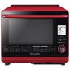 【新品】【送料無料】【大型家電-代引不可-キャセル不可】シャープウォーターオーブンヘルシオ(HEALSIO)30L2段調理レッドAX-SP300-R