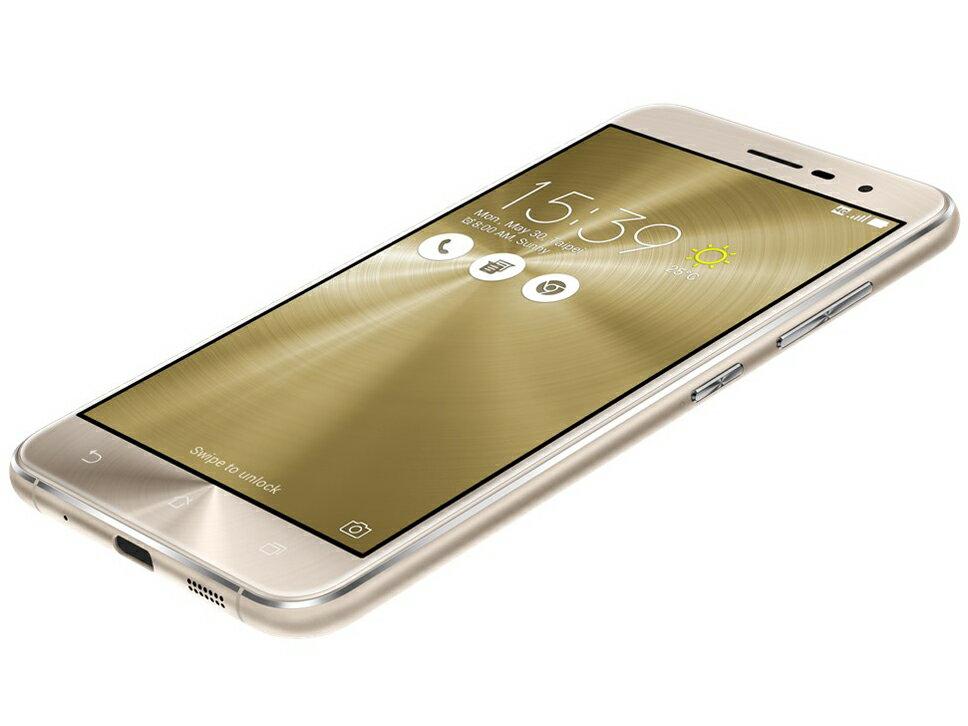 【新品】【送料無料】ZenFone 3 (Qualcomm Snapdragon 625/メモリ3GB/ストレージ32GB) クリス...