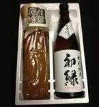 味噌ごぼう&初緑特別純米無濾過生原酒セット