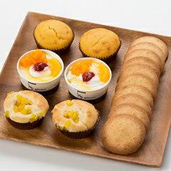 【送料込!原材料に卵・乳製品・小麦粉不使用】クッキー・プチケーキ・カップデザートをセット...