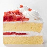 ストロベリーケーキカット面
