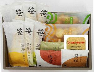 【高政TABLEFORTWO詰合せ「TFT11」】笹かまぼこ6枚、あげかま3枚、ぷちあげ2袋