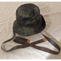 LOUISVUITTONルイヴィトン帽子ボネ・イカットMP2725美品バケットハット58cm