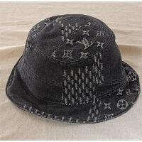 LOUISVUITTONルイヴィトン帽子ボネ・ダミエジャイアントウェーブモノグラムMP2745中古美品バケットハットNIGOニゴ