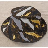 LOUISVUITTONルイヴィトン帽子シャポー・モノグラムM76232美品バケットハット「リーグ・オブ・レジェンド」コラボSサイズ