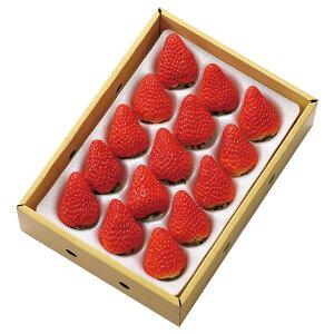 入荷状況により、ご指定日でのお届けは出来かねます。【新宿高野】さがほのか苺 15粒入 #91596