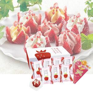 母の日☆博多あまおう 花いちごのバラエティアイス母の日・送料無料・プレゼント・ギフト「博多あまおう」を使った人気の花いちごのアイスが新しくなりました。花のように開いた苺の