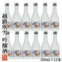 【ケース販売】日本酒 越路吹雪(こしじふぶき) 吟醸酒 30...