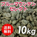 【送料無料(一部地域を除く)】生豆 ブルーマウンテン セレクト 10kg(5kg×2)