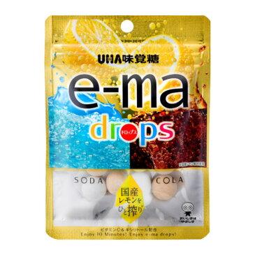 味覚糖 e-ma drops 袋 46g×6入 【ラッキーシール対応】