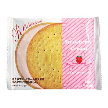 (本州送料無料) 前田製菓 ストロベリーサンド ビスケット リサーチ(10×6)60入(Y80)