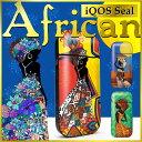 iQOS アイコス シール ケース カバー タバコ 電子タバコ ステッカー アイコスシール iQOSシール African iqos-040-cp