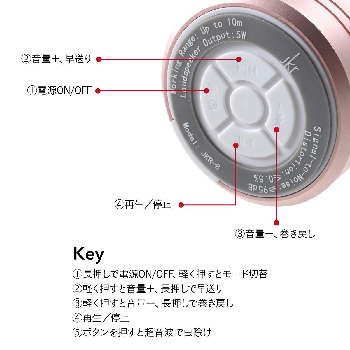 ワイヤレススピーカー  Bluetooth 4.2 スピーカー スマートフォン スピーカースタンド 防水 ブルートゥース iPhone android 対応 jkr jkr-8-set