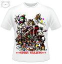 Little World リトルワールド Tシャツ メンズ イラスト 童話の悪党達25-tm-0033