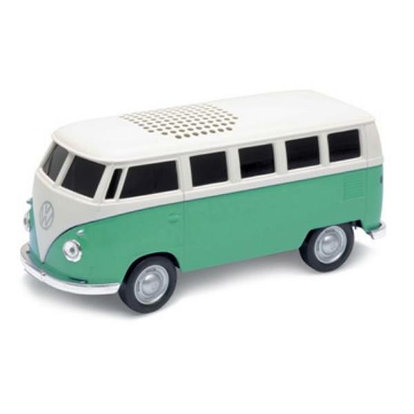 車型Bluetoothブルートゥーススピーカー1963VolkswagenT1BusGreenフォルクスワーゲンT1バスグリーン