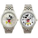ミッキーマウス 手針 メタル ベルト 腕時計 ウォッチ キッ...